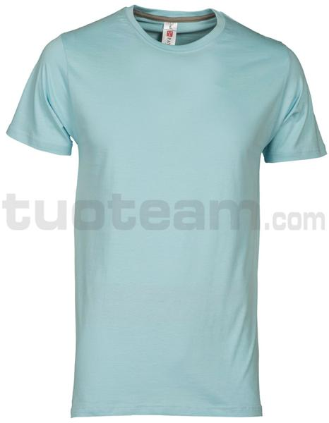 SUNSET - T-SHIRT SUNSET - AQUAMARINE