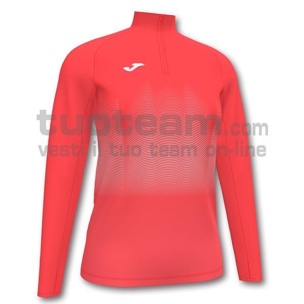 901031 - ELITE VII WOMAN FELPA 90% polyester 10% fleece elastane - 040 ARANCIONE FLUOR SCURO