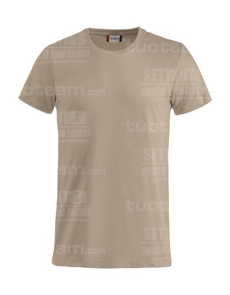 029030 - Basic-T T-SHIRT - 820 caffe latte