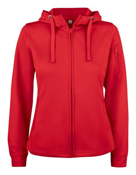 021015 - Basic Active Hoody Full Zip Lady