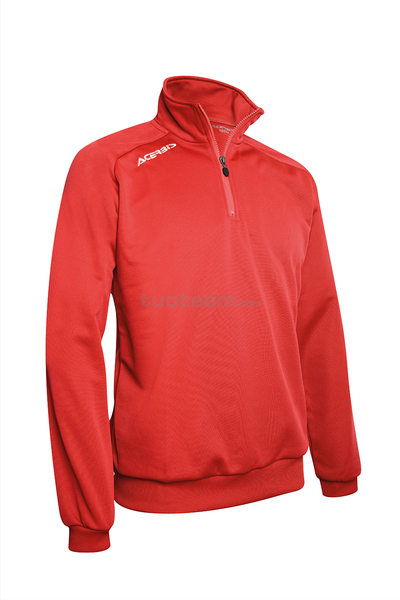 0022297 - ATLANTIS 2 FELPA 1/2 ZIP - RED