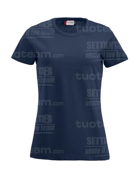 029325 - T-SHIRT Fashion-T Lady - 58 blu navy