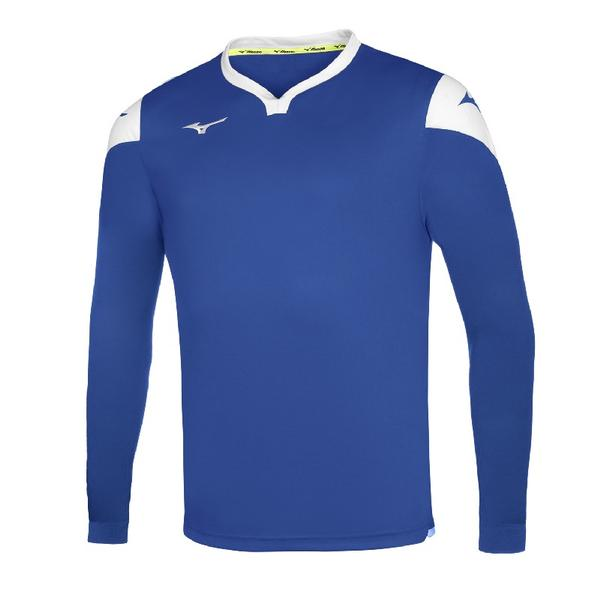 P2EA8900 - GAME SHIRT RUNBIRD L/S JUNIOR - Royal/White