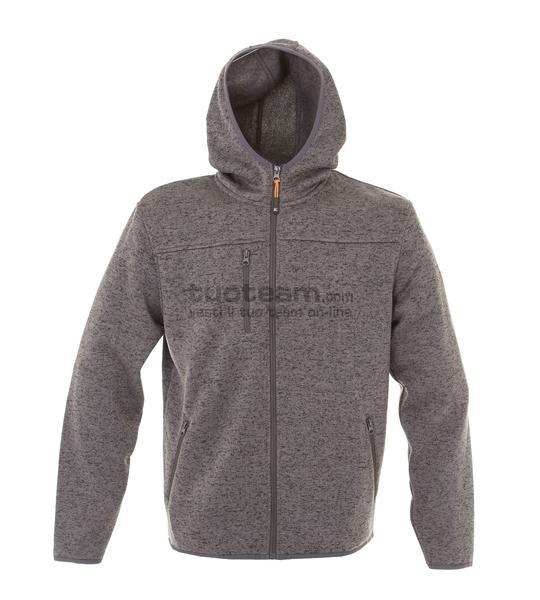 99175 - Knitted Fleece Quebec Man - DARK GREY