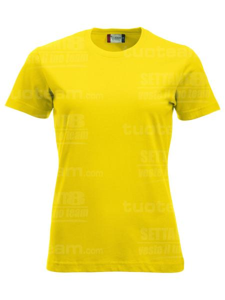 029361 - T-SHIRT New Classic T Lady - 10 giallo limone