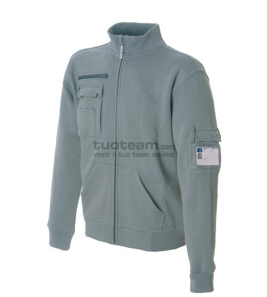 99024 - ITALY - Felpa - Camouflage Grey
