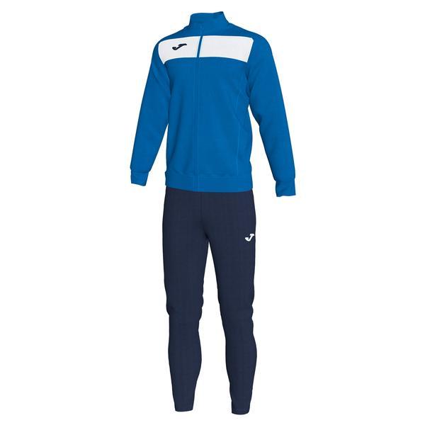 101352 - ACADEMY III TUTA 100% polyester fleece - 702 ROYAL / BIANCO
