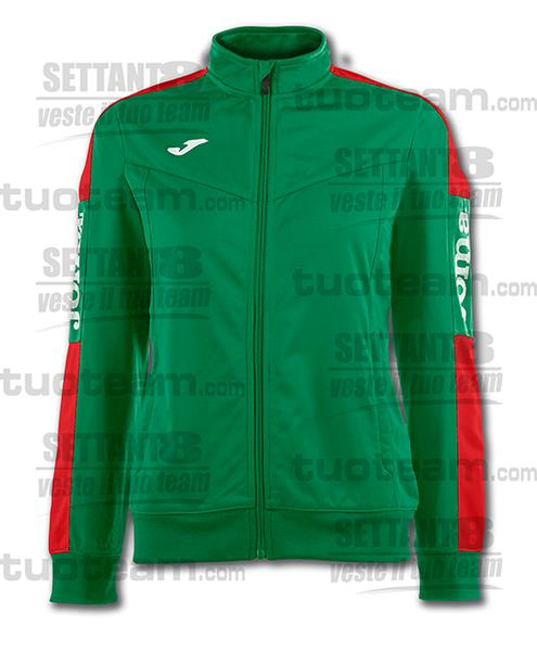 900380 - CHAMPIONSHIP IV WOMAN GIACCA TRICOT - 456 VERDE/ROSSO
