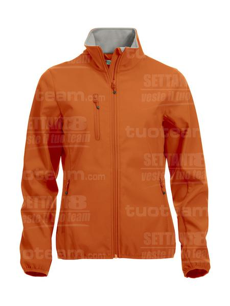 020915 - GIACCA Basic Softshell Jacket Ladies - 18 arancione