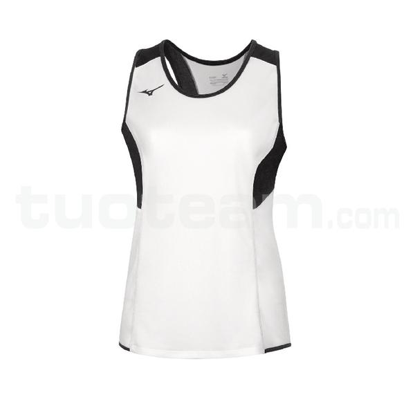 U2EA7301 - Authentic Singlet - White/Black